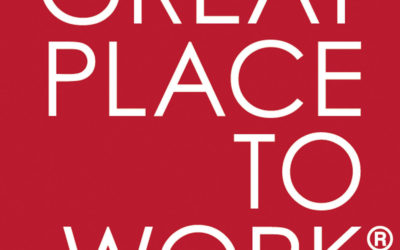 We are now certified by Great Place To Work